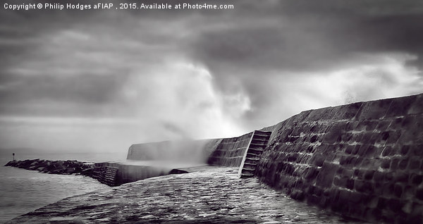 Storm Over The Cobb Canvas print by Philip Hodges aFIAP ,