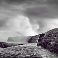 Buy canvas prints of  Storm Over The Cobb by Philip Hodges aFIAP ,