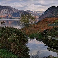 "Buy canvas prints of ""Sun up at Ennerdale Water"" by ROSALIND RIDLEY"