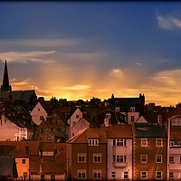"""Buy canvas prints of """"Lighting Up Whitby"""" by ROSALIND RIDLEY"""