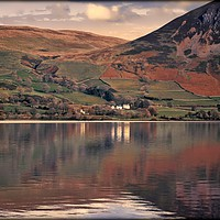"Buy canvas prints of ""Reflections at Ennerdale water 2"" by ROSALIND RIDLEY"