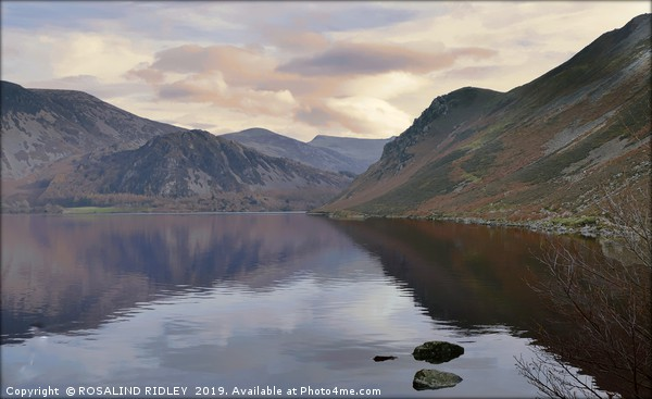 """Misty pastel morning at Ennerdale"" Canvas print by ROSALIND RIDLEY"