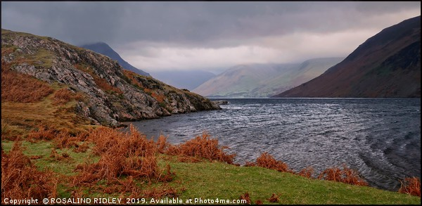 """Autumn mists over Wastwater"" Canvas print by ROSALIND RIDLEY"
