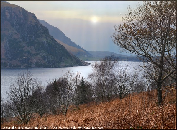 """""""Autumn mists at Ennerdale water"""" Canvas print by ROSALIND RIDLEY"""