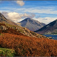 """Buy canvas prints of """"Evening light Wasdale"""" by ROSALIND RIDLEY"""