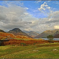 """Buy canvas prints of """"Pastel Wasdale"""" by ROSALIND RIDLEY"""