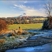 "Buy canvas prints of ""Snowcapped Roseberry"" by ROSALIND RIDLEY"