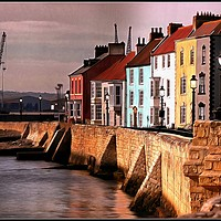 "Buy canvas prints of """"Tide's in at Hartlepool Headland "" by ROSALIND RIDLEY"