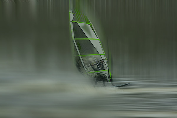 Windsurfer Canvas print by Robin Marks