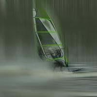 Buy canvas prints of  Windsurfer by Robin Marks