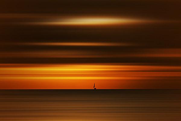 Sunrise on the beach Canvas print by Robin Marks