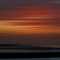 Buy canvas prints of Reculver sunset by Robin Marks