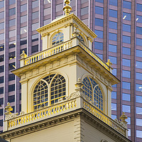 Buy canvas prints of The Old State House Tower by Ian Danbury