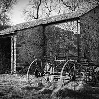 Buy canvas prints of  Yorkshire Dales Farm Building by Brian Garner