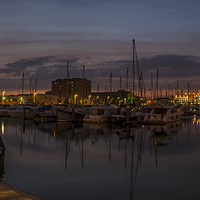 Buy canvas prints of  Hull Marina by David Charlton