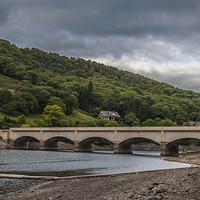 Buy canvas prints of  Ladybower Reservoir by David Charlton