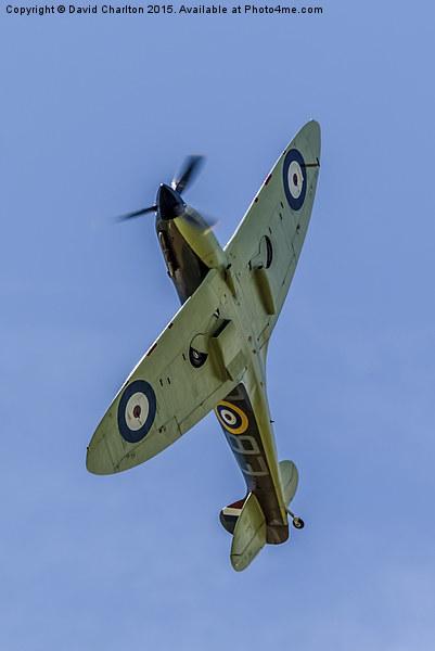 Spitfire Canvas print by David Charlton