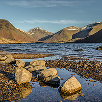 Buy canvas prints of Wast water by David Charlton