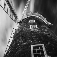 Buy canvas prints of  Windmill of my Mind by Simon Gray
