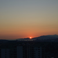 Buy canvas prints of Sunset in Burnaby 2, by Ali asghar Mazinanian