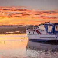 Buy canvas prints of Thornham Sunrise by Simon Taylor