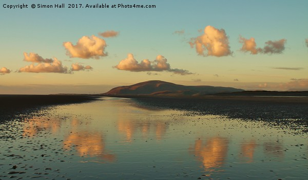 Black Combe Cumbria Framed Mounted Print by Simon Hall