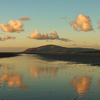 Buy canvas prints of Black Combe Cumbria by Simon Hall