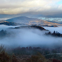 Buy canvas prints of Hodge Close Coniston by Simon Hall