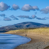 Buy canvas prints of Black Combe from Sandscale. by Simon Hall