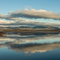 Buy canvas prints of Duddon Estuary Cumbria. by Simon Hall
