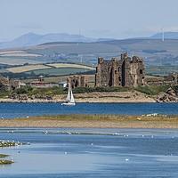 Buy canvas prints of Piel Castle Cumbria. by Simon Hall
