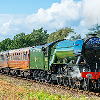 Buy canvas prints of Flying Scotsman, Severn Valley 25/09/2016 by Iso Max