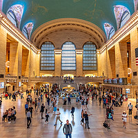 Buy canvas prints of Grand Central Station, Manhattan, New York by Iso Max