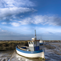 Buy canvas prints of  Brancaster Staithe by Alan Simpson