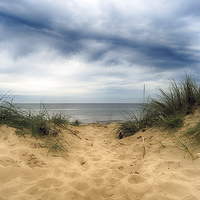 Buy canvas prints of  Brancaster Beach by Alan Simpson