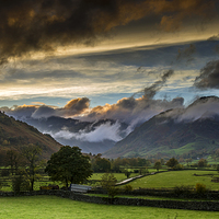 Buy canvas prints of  Langdale Valley by Alan Simpson