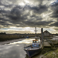 Buy canvas prints of Thornham Harbour by Alan Simpson
