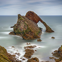Buy canvas prints of Bow Fiddle Rock by Alan Simpson