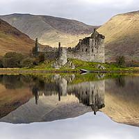 Buy canvas prints of Kilchurn Castle by Alan Simpson