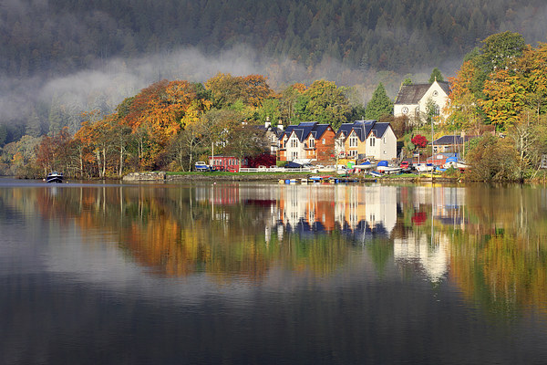Kenmore Reflections Canvas Print by Andrew Ray