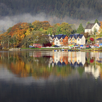 Buy canvas prints of Kenmore Reflections by Andrew Ray