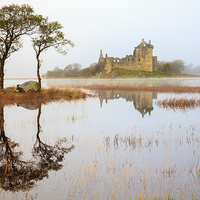 Buy canvas prints of Kilchurn Reflections by Andrew Ray