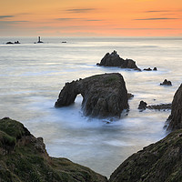 Buy canvas prints of Sunset view (Land's End) by Andrew Ray