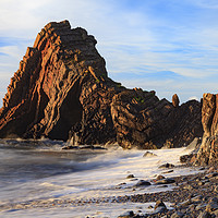 Buy canvas prints of Blackchurch Rock (Mouthmill) by Andrew Ray