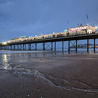 Buy canvas prints of The Pier at Paignton by Andrew Ray