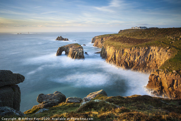 Lands End View Canvas print by Andrew Ray