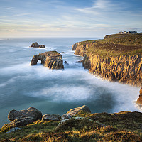 Buy canvas prints of Lands End View by Andrew Ray