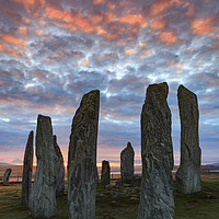 Buy canvas prints of Sunrise at Callanish Stone Circle by Andrew Ray