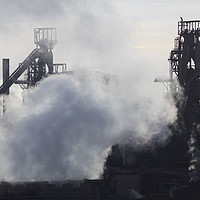 Buy canvas prints of Port Talbot Blast Furnaces by Andrew Ray