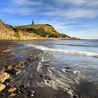 Buy canvas prints of Wave pattern at Kimmeridge  by Andrew Ray